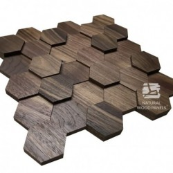 HEXAGON 12 – American walnut 3D