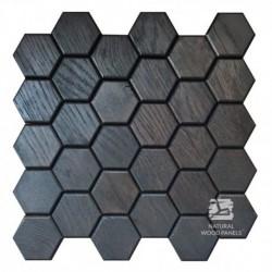 Hexagon 2 - quercia nera