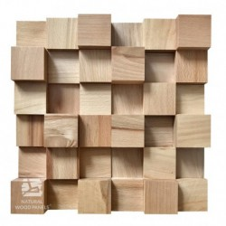 Wood diffuser acoustic panel 30x30cm BUK